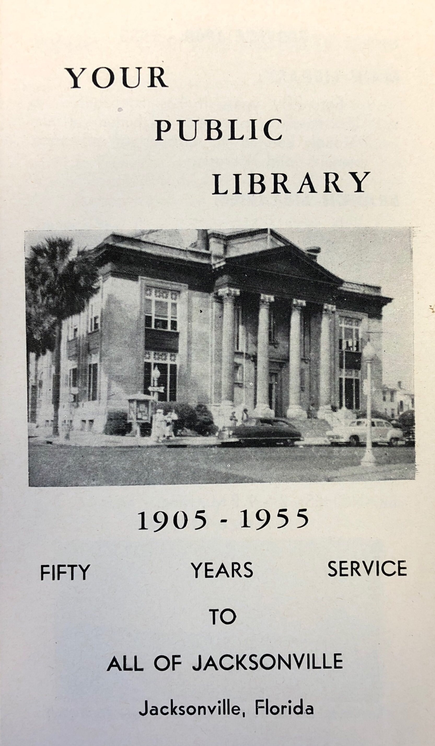 Your Public Library, 50 years of service