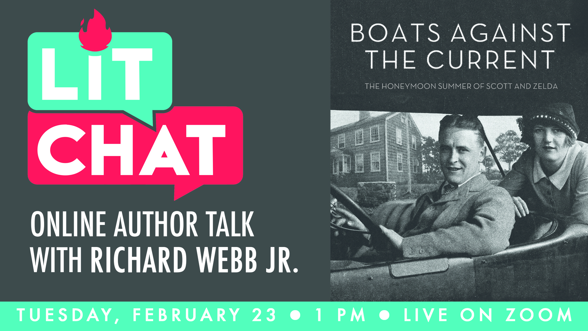 Lit Chat With Richard Webb