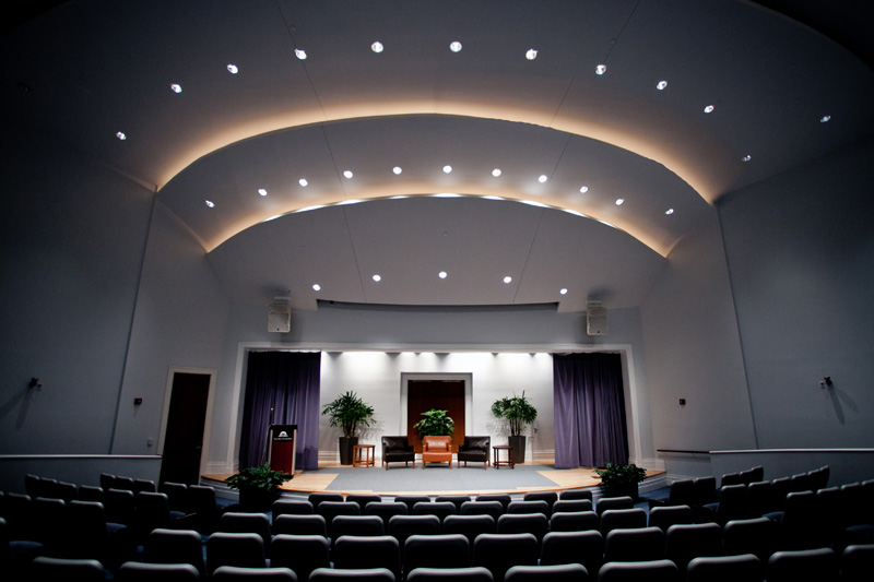 Hicks Auditorium at the Main Library