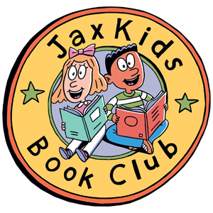 Jax Kids Book Club logo Jacksonville Public Library