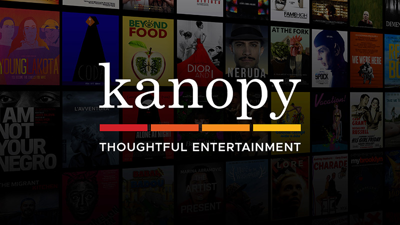 Image representing the Kanopy streaming service at the Jacksonville Public Library
