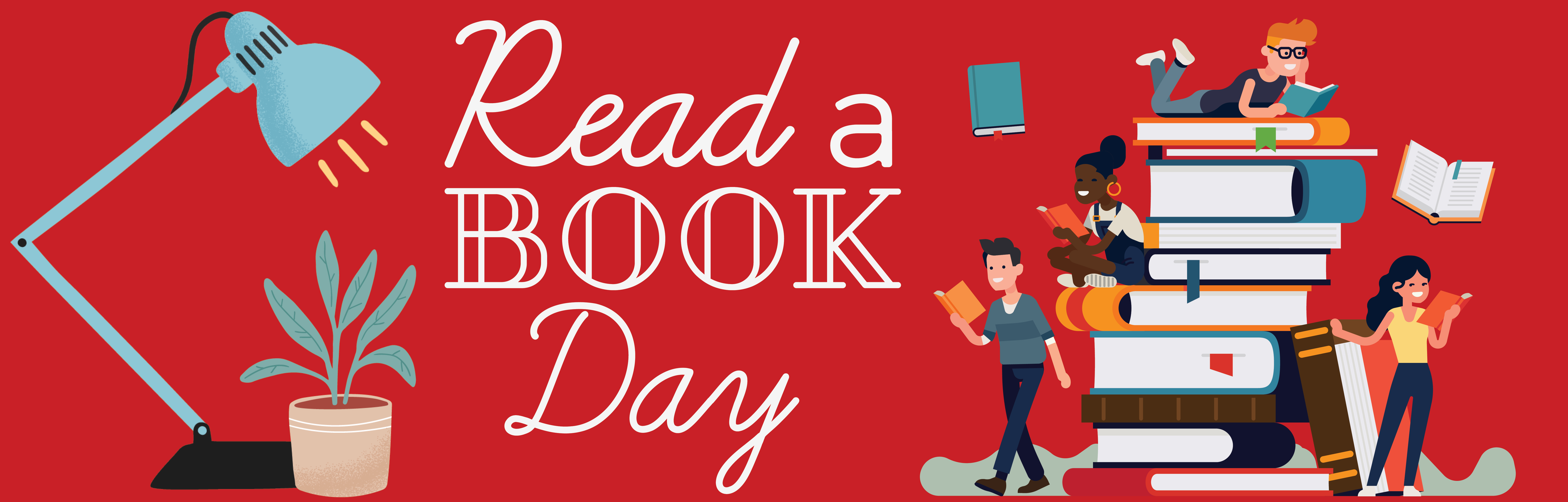 Read a Book Day, Read a Book Day Graphic, September 6, Read a Book Day Banner