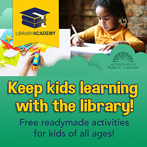 Library Academy - Keep kids learning with the library! Free readymade activities for kids of all ages!