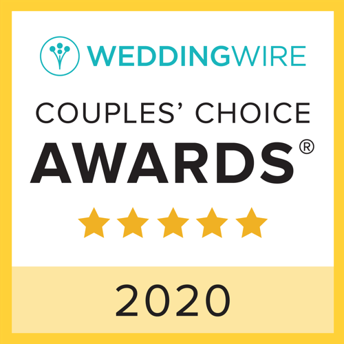 Wedding Wire 2020 Couple's Choice Award