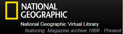 National Geographic Virtual Library logo
