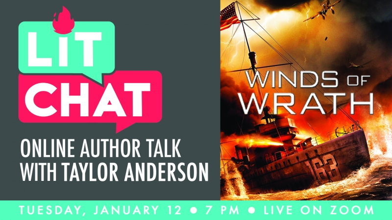 Lit Chat With Taylor Anderson