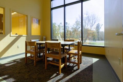 Study Room A at Highlands Regional