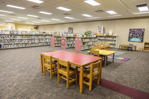 Highlands Regional Library Children's area