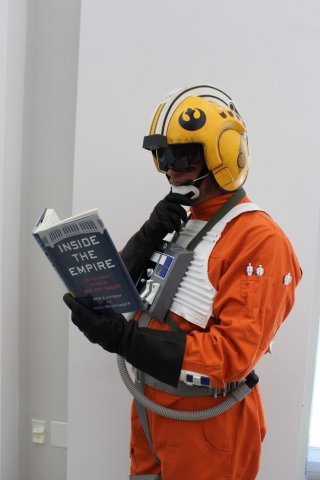 Rebellion fighter pilot trying to learn more about the Empire