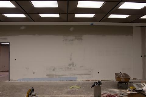 Webb Wesconnett Regional Library Children's Area Drywall