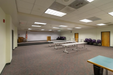 Community Room A at Bradham and Brooks