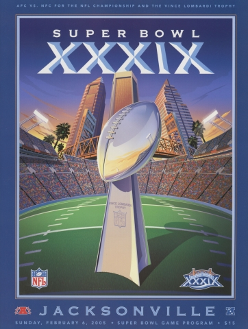 Game Program (cover) produced by NFL Publishing