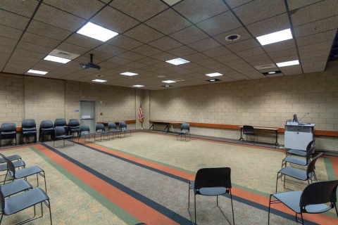 Community Room A at West