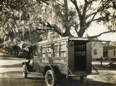 1928 book truck