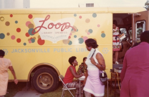 The Loop Library Operated Outreach Program Vehicle