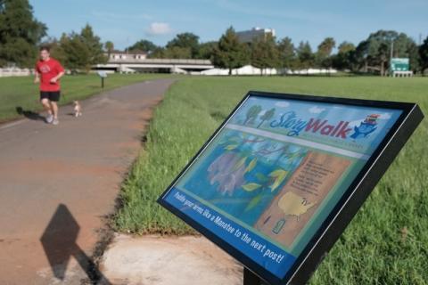Klutho Park Storywalk