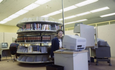 Employee at SWIFT computer