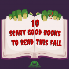 10 scary books to check out this fall, jacksonville public library, horror books, halloween books