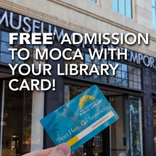 Discover MOCA With Your Jacksonville Public Library Card