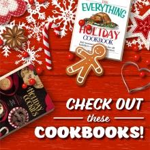 Food Friday: Holiday Cookbooks