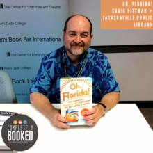 Craig Pittman, Oh Florida, Completely Booked Podcast, Jacksonville Public Library