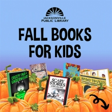 Fall Books for Kids at the Library