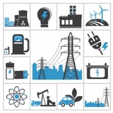 icons of different power sources