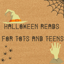 Spooky Halloween Reads for tots and teens, Halloween Book List, Jacksonville Public Library, Top horror books, kids halloween books, young adult horror books