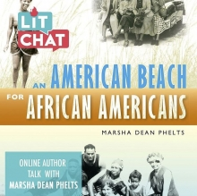 American Beach for African American Book Cover for Lit Chat with Marsha Dean Phelts