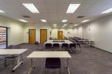 Multipurpose room at Bradham and Brooks