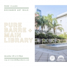 Pure Barre, Jacksonville Public Library, Pure Barre Riverside, Pure Barre Pop-Up, Jacksonville Art Walk, Jacksonville Events, Amanda Toman