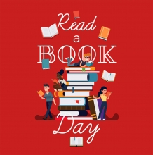 Read a Book Day, Read a Book Day Graphic, September 6, People Reading Books,
