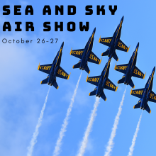 Sea and sky air show, Jacksonville Navy, Jacksonville air show, navy plane air show, blue angels, Jax air show, Sea and sky air show 2019