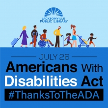 ADA Day: The Americans with Disabilities Act signed on July 26 Hashtag Thanks to the ADA