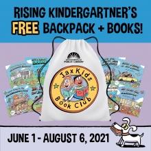 Jax Kids Book Club Backpacks and Books for Rising Kindergarteners