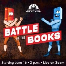 Battle of the Books Starting June 16 2pm live on Zoom