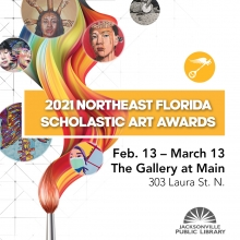 Scholastic Art Awards Gold Key Exhibit February 13 through March 13