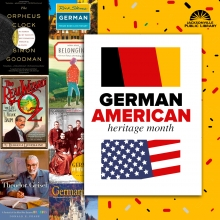 German American History Month Graphic