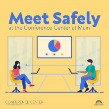 Meet Safely at the Conference Center at Main