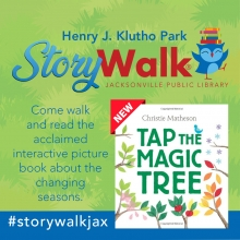 Now Open! Second Children's Storybook Installed At Storywalk® In Klutho Park