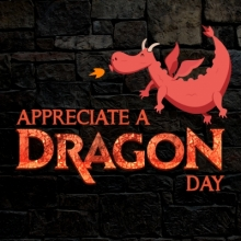 Appreciate a Dragon Day, Dragon Books, Fanstasy books, January 16