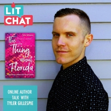 Tyler Gillespie Lit Chat Podcast Episode