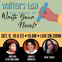 Writer's Lab: Get Ready To Write Your Novel