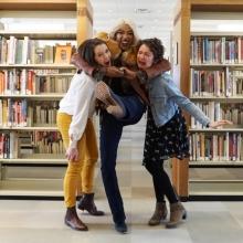 Jenna and Hurley with Alicia Fox