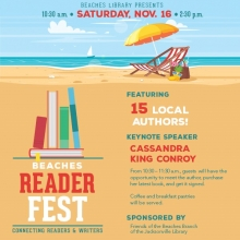 Beaches Reader Fest, Beaches Branch Library, Jacksonville Public Library, Literary Event, Jacksonville authors
