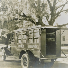 Library Book Truck from 1928