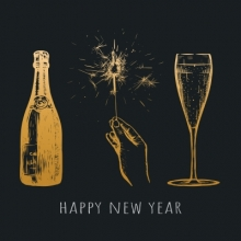 New Year's Eve Champagne Guide, Justin Tichy, Jacksonville Public Library, Champagne Books, Completely Booked, Podcast, New Years Eve, Jacksonville