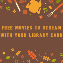 Thanksgiving, Thanksgiving Movies, Free Movies, Kanopy, Jacksonville Public Library