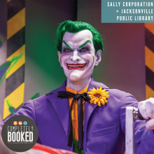 Sally Corporation, Jacksonville Public Library, Podcast, Completely Booked Podcast, Joker, Dark Rides