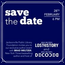 Brad Meltzer Keynote Speaker Author Event